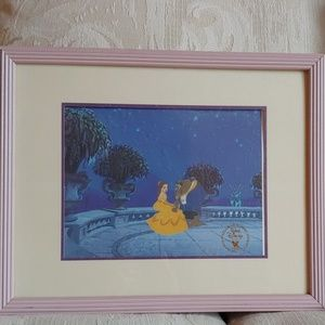 Beauty & the Beast Lithograph 1992
